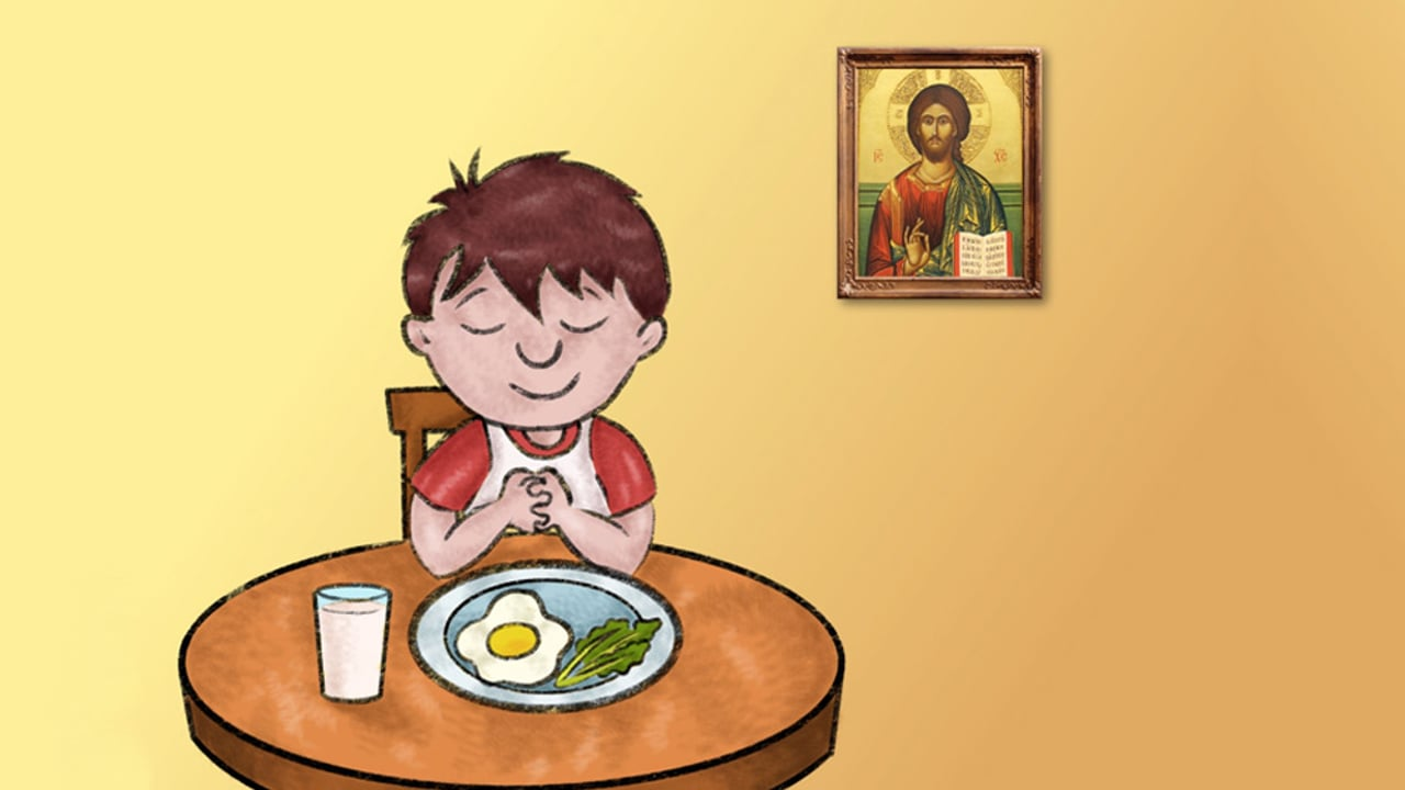 Joshua and the Jesus Prayer - Orthodox Christian Cartoon