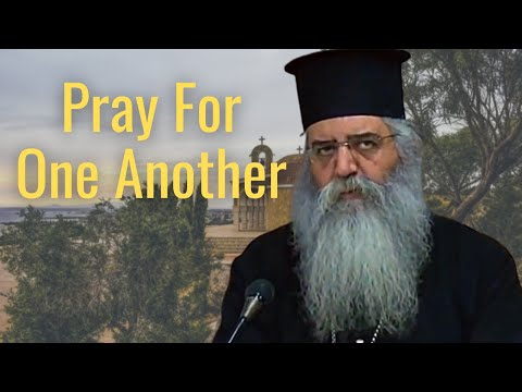 Pray For One Another // Metropolitan Neophytos of Morfou - Advice During These Difficult Times